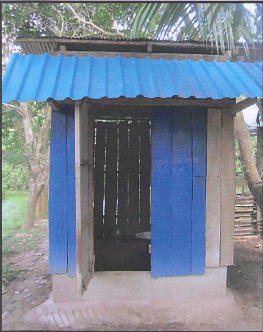 My twin toilet in Cambodia